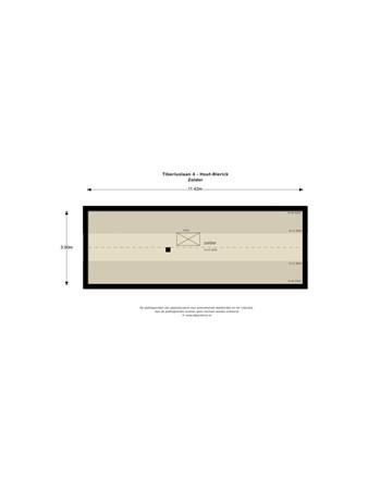 Floorplan - Tiberiuslaan 4, 5926 TH Venlo