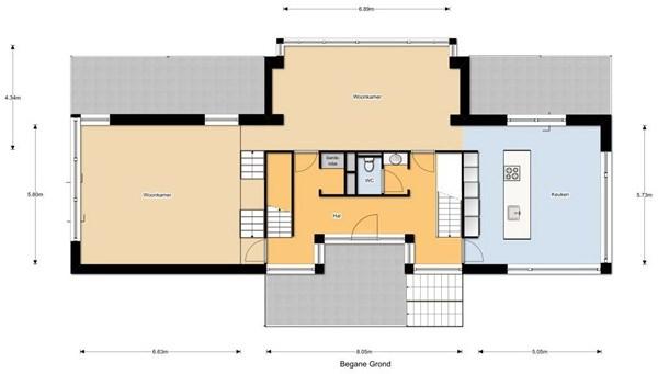 Floorplan - Oscar Leeuwlaan 22, 5915 JA Venlo