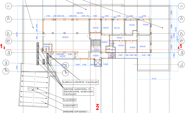 Floorplan - 150 დავით აღმაშენებლის ხეივანი, Tbilisi