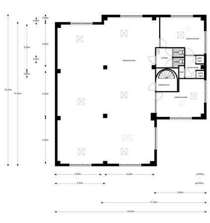 Floorplan - Lelyweg 10, 4612 PS Bergen op Zoom