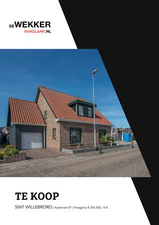 Brochure preview - Kaaistraat 57, 4711 HP SINT WILLEBRORD (1)