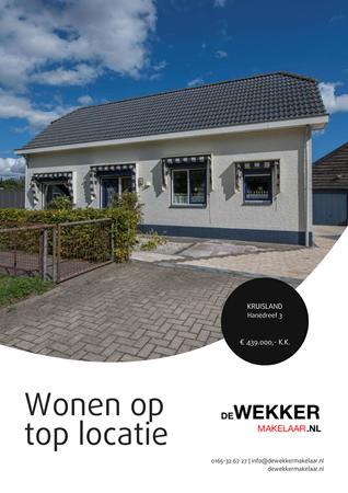 Brochure preview - Hanedreef 3, 4756 BK KRUISLAND (1)