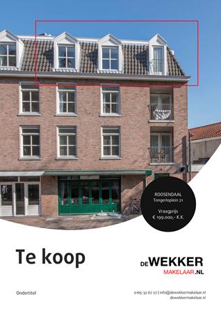 Brochure preview - Tongerloplein 21, 4701 HV ROOSENDAAL (1)