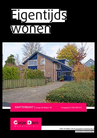 Brochure - Langs de Bogen 26, 8255 GG SWIFTERBANT (2) - Langs de Bogen 26, 8255 GG Swifterbant