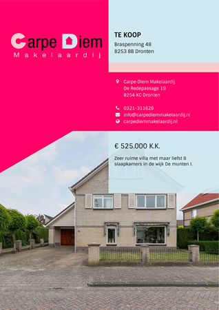 Brochure preview - Braspenning 48, 8253 BB DRONTEN (1)