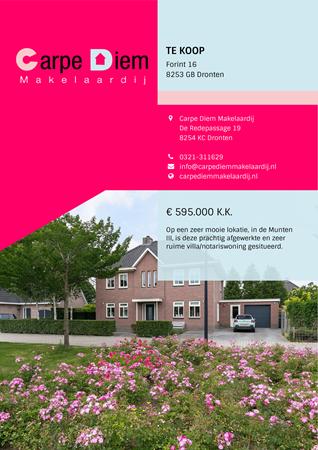 Brochure preview - Forint 16, 8253 GB DRONTEN (1)