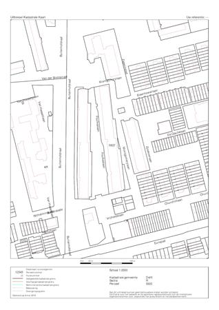 Floorplan - Montgomerylaan 116, 2625 PR Delft