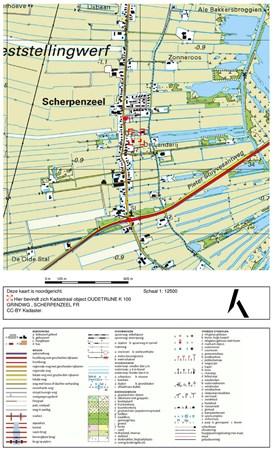 Floorplan - Grindweg 149*, 8483 JM Scherpenzeel