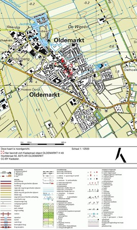 Floorplan - Hoofdstraat 50, 8375 AR Oldemarkt