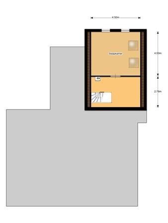 Floorplan - Middenweg 54, 8537 SP Echten