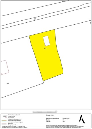 Floorplan - Nieuweweg 27, 8482 KM Spanga