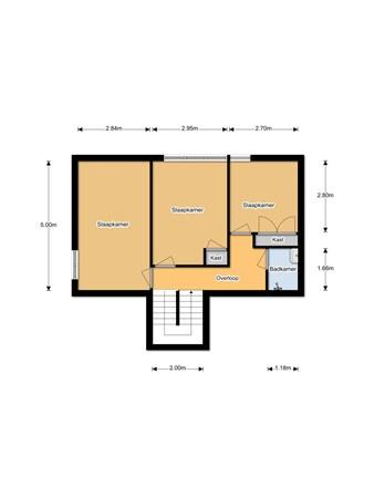 Floorplan - Pieter Stuyvesantweg 82, 8479 HK Oldetrijne