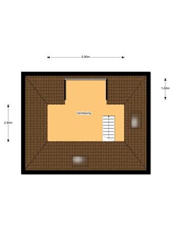 Floorplan - 'T Sou 33, 8721 GX Warns
