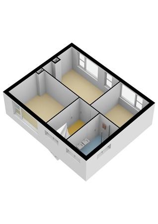 Floorplan - Fregat 28, 2951 JD Alblasserdam