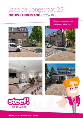 Brochure preview - Jaap de Jongstraat 23, 2957 KD NIEUW-LEKKERLAND (1)