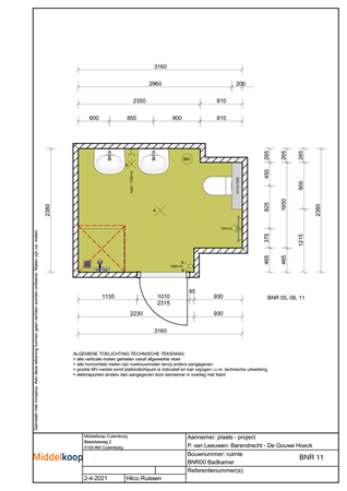 Brochure preview - 0-tekening sanitair bnr. 11.pdf