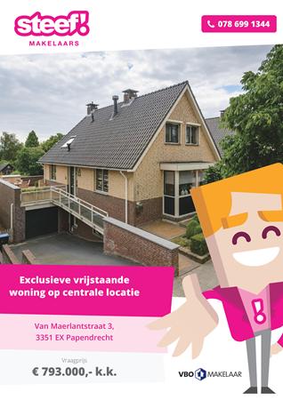 Brochure preview - Van Maerlantstraat 3, 3351 EX PAPENDRECHT (1)