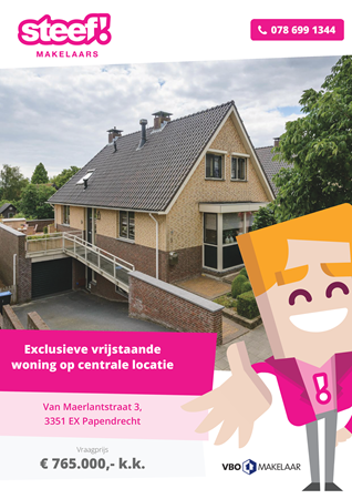 Brochure preview - Van Maerlantstraat 3, 3351 EX PAPENDRECHT (1)