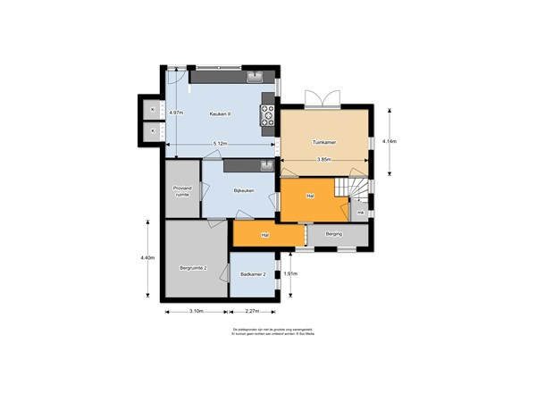 Floorplan - Molenstraat 26, 2961 AL Kinderdijk