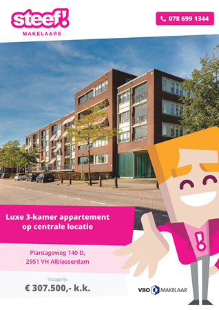 Brochure preview - Plantageweg 140-D, 2951 VH ALBLASSERDAM (1)