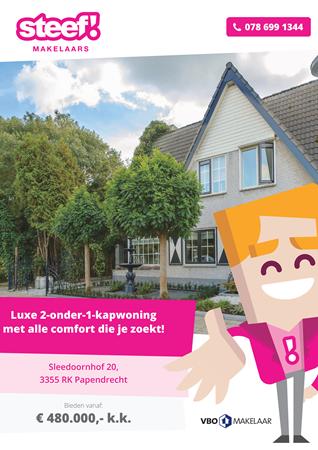 Brochure preview - Sleedoornhof 20, 3355 RK PAPENDRECHT (2)