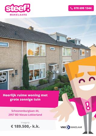 Brochure preview - Schoonenburglaan 44, 2957 BD NIEUW-LEKKERLAND (1)