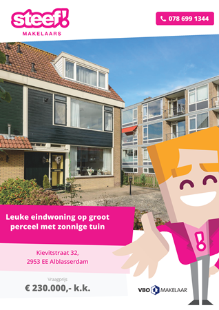 Brochure preview - Kievitstraat 32, 2953 EE ALBLASSERDAM (1)