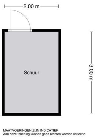 Floorplan - Liesgras 16, 2957 RH Nieuw-Lekkerland