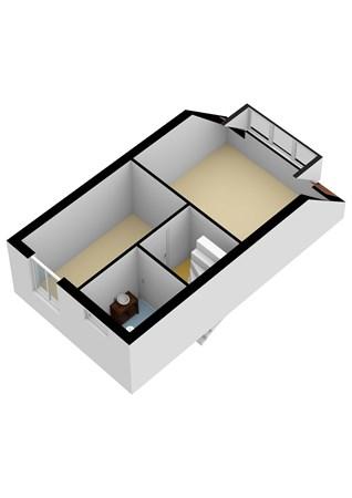 Floorplan - Gebroeders Potstraat 32, 2957 KC Nieuw-Lekkerland