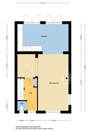 Floorplan - Tjalkstraat 1, 2957 GB Nieuw-Lekkerland