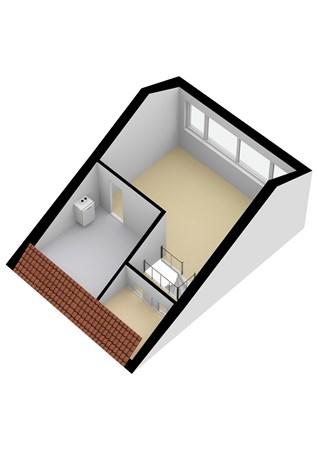 Floorplan - Von Lindernstraat 5, 2951 AT Alblasserdam