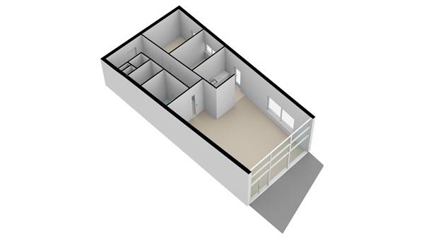 Floorplan - Rivierstaete 45, 2953 HC Alblasserdam