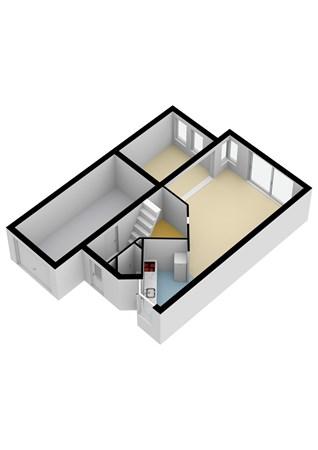 Floorplan - Wethouder De Jongstraat 5, 2957 KN Nieuw-Lekkerland