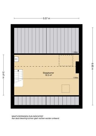 Floorplan - Ireneweg 10, 2961 AC Kinderdijk