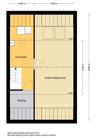 Floorplan - Elzenhorst 12, 2951 WB Alblasserdam