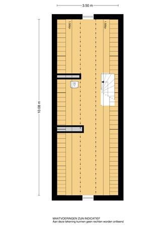 Floorplan - Burgemeester Nieborgstraat, 2957 KJ Nieuw-Lekkerland