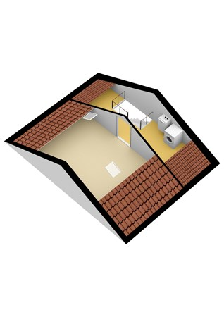 Floorplan - Azaleastraat 11, 2951 BB Alblasserdam