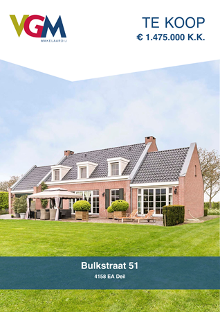 Brochure preview - Bulkstraat 51, 4158 EA DEIL (1)