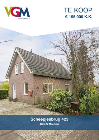 Brochure preview - Scheepjesbrug 423, 4231 ZZ MEERKERK (1)