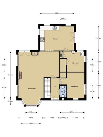 Floorplan - Lakerveld 67, 4128 LE Lexmond