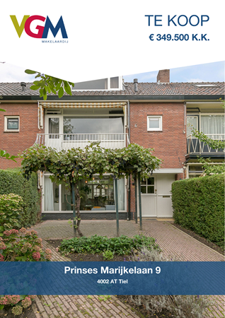 Brochure preview - Prinses Marijkelaan 9, 4002 AT TIEL (1)