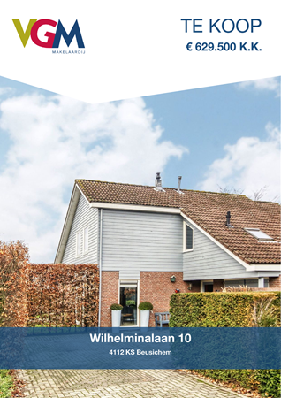 Brochure preview - Wilhelminalaan 10, 4112 KS BEUSICHEM (1)