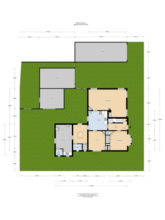 Floorplan - Middenstraat 34, 4156 AH Rumpt