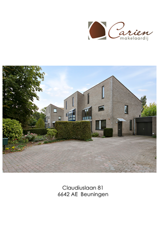 Brochure preview - Claudiuslaan 81, 6642 AE BEUNINGEN (1)