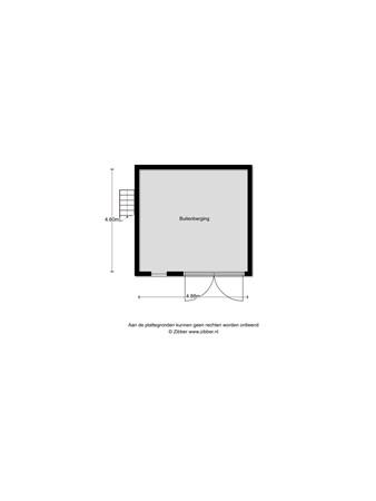 Floorplan - Claudiuslaan 81, 6642 AE Beuningen