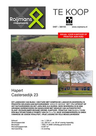 Brochure preview - brochure_castersedijk 23