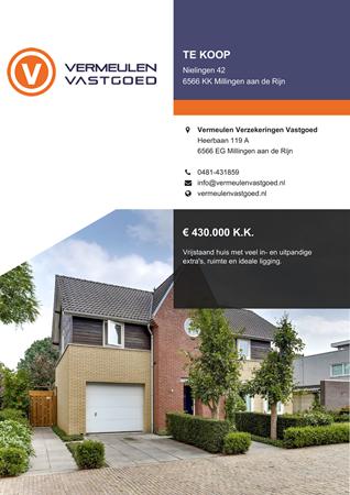 Brochure preview - Nielingen 42, 6566 KK MILLINGEN AAN DE RIJN (1)