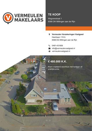 Brochure preview - Wagnerstraat 1, 6566 DK MILLINGEN AAN DE RIJN (1)