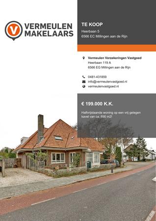 Brochure preview - Heerbaan 5, 6566 EC MILLINGEN AAN DE RIJN (1)