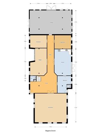 Floorplan - Eemster 82, 7991 PT Dwingeloo